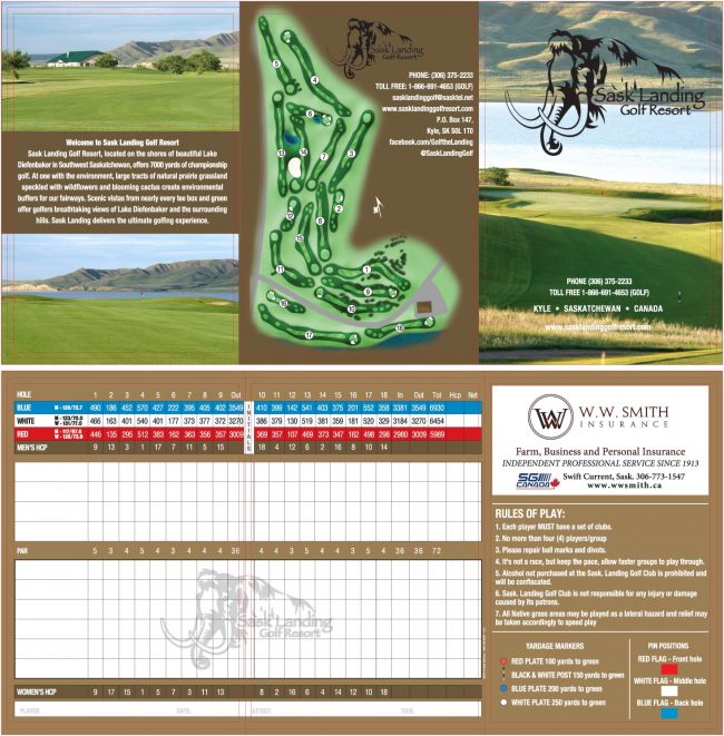 Sask Landing Scorecard